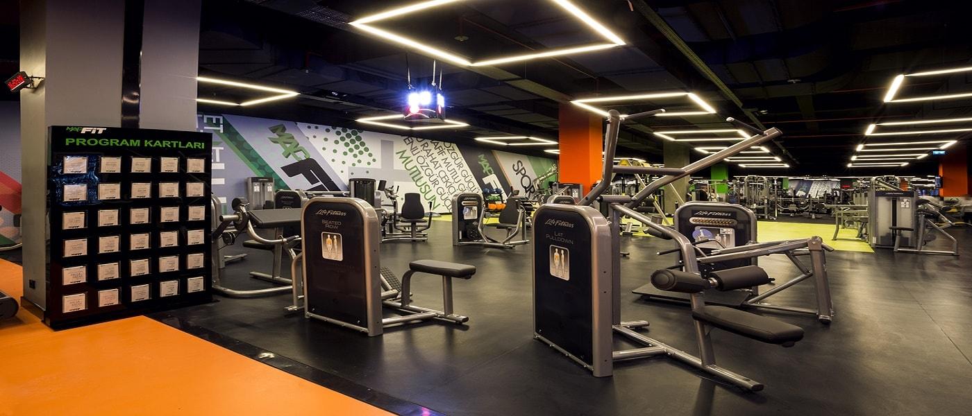 fitness yer döşeme malzemeleri
