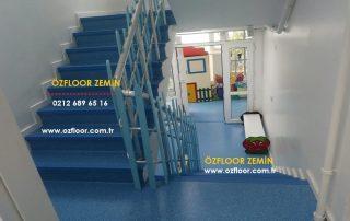 Anaokulu Merdiven Kaplaması