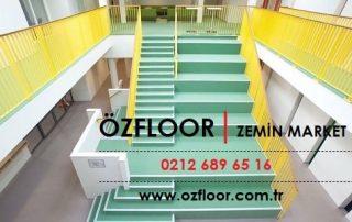 yerşil merdiven döşemeleri