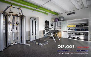 fitness spor salonu yer döşemesi